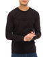Black cotton blend long sleeve top Sale - galvanni Sale