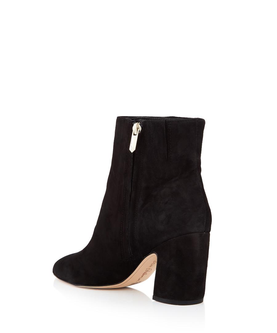 84a8c8749 ... Hilty black suede heeled boots Sale - Sam Edelman Sale