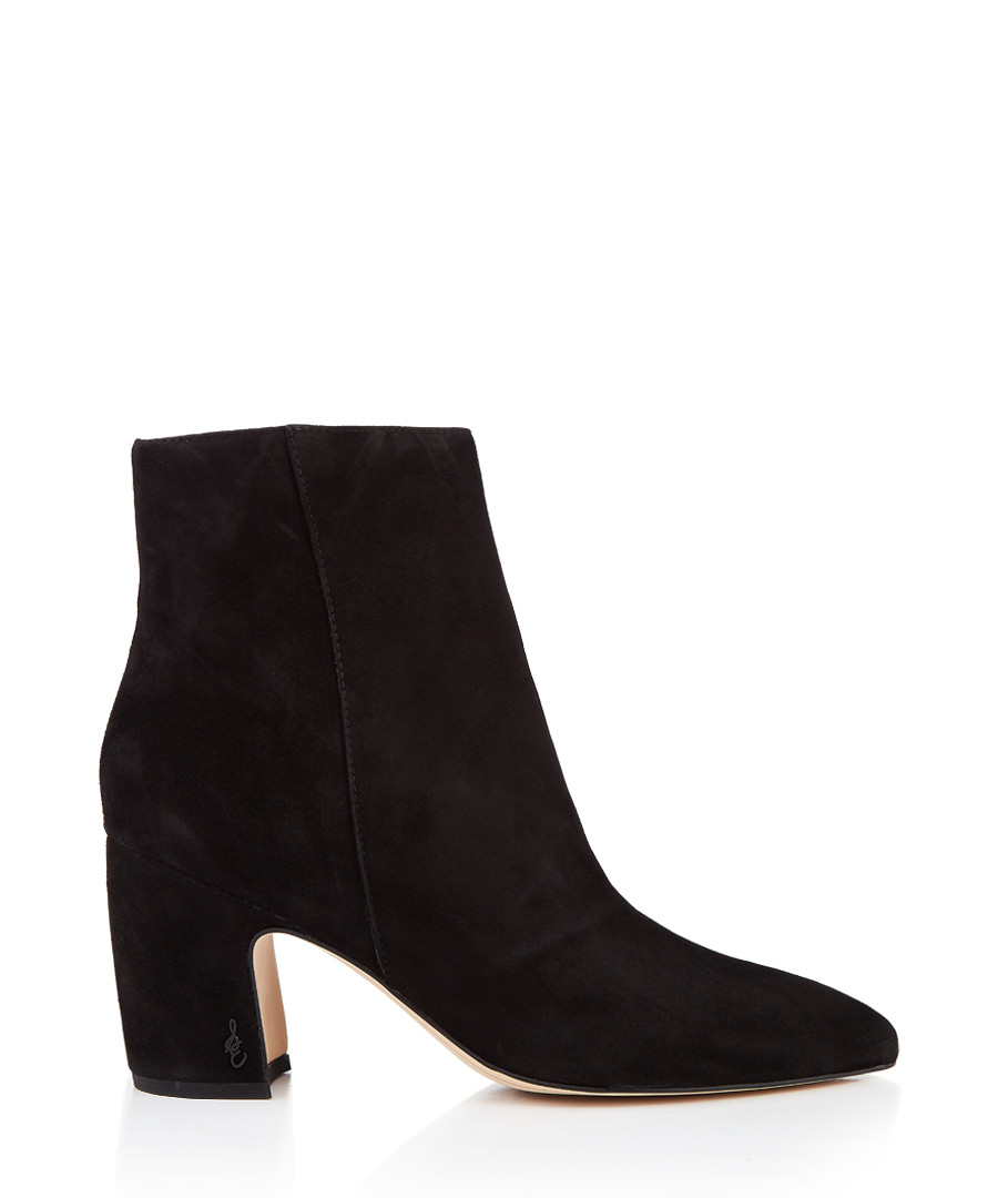 b984c2c25 Hilty black suede heeled boots Sale - Sam Edelman