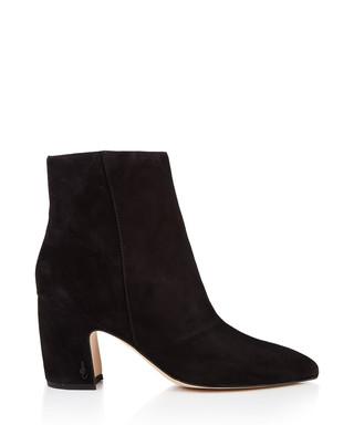 c719e98674fc Hilty black suede heeled boots Sale - Sam Edelman Sale