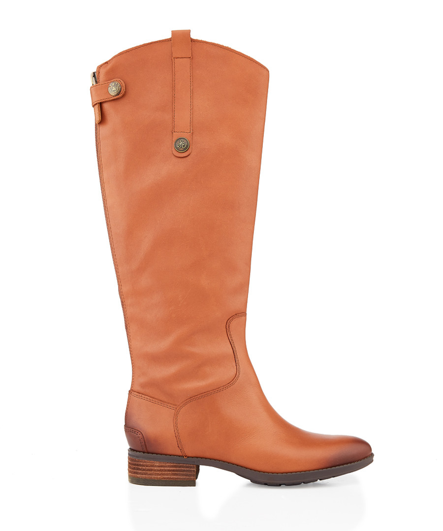 Penny whiskey leather boots Sale - Sam Edelman