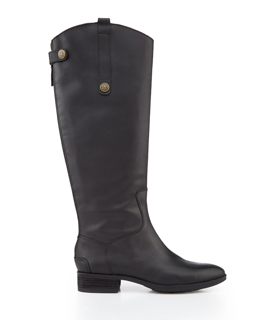 Penny black leather boots Sale - Sam Edelman