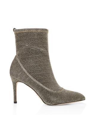 2d57c3829b9c Olson gold-tone metallic heeled boots Sale - Sam Edelman Sale