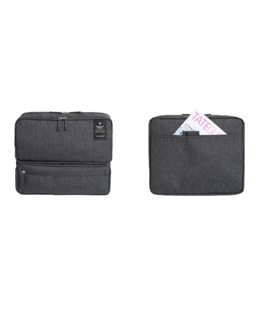 Dark grey carry-on travel bag  Sale - dynergy