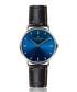 Mont Fort black leather moc-croc watch Sale - frederic graff Sale