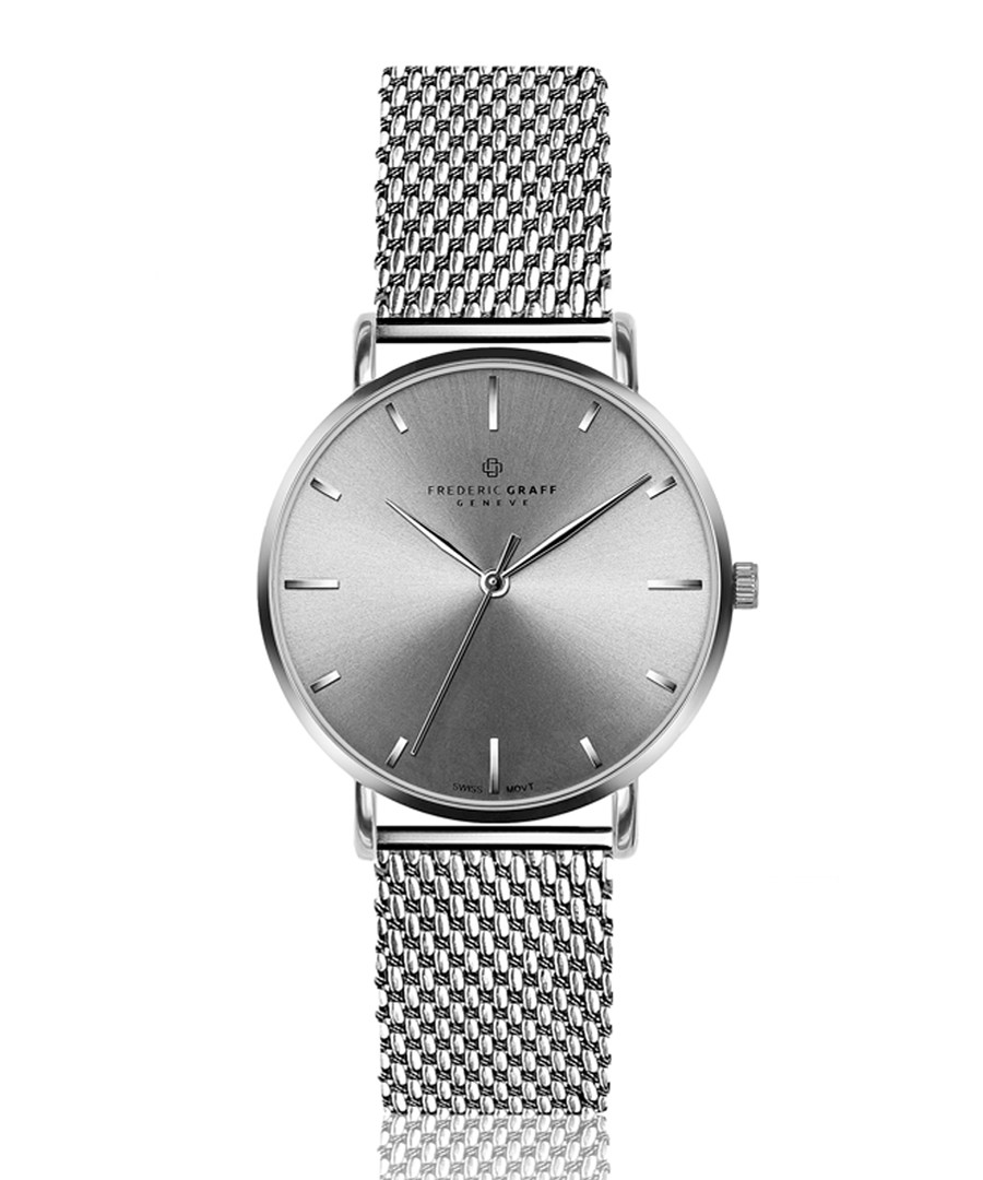 Eveque stainless steel mesh watch Sale - frederic graff