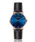 Mont Fort black moc-croc leather watch Sale - frederic graff Sale