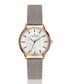 Clariden grey leather quartz watch Sale - frederic graff Sale