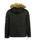 Banotiko black pocket flag parka jacket Sale - Canadian Peak Sale