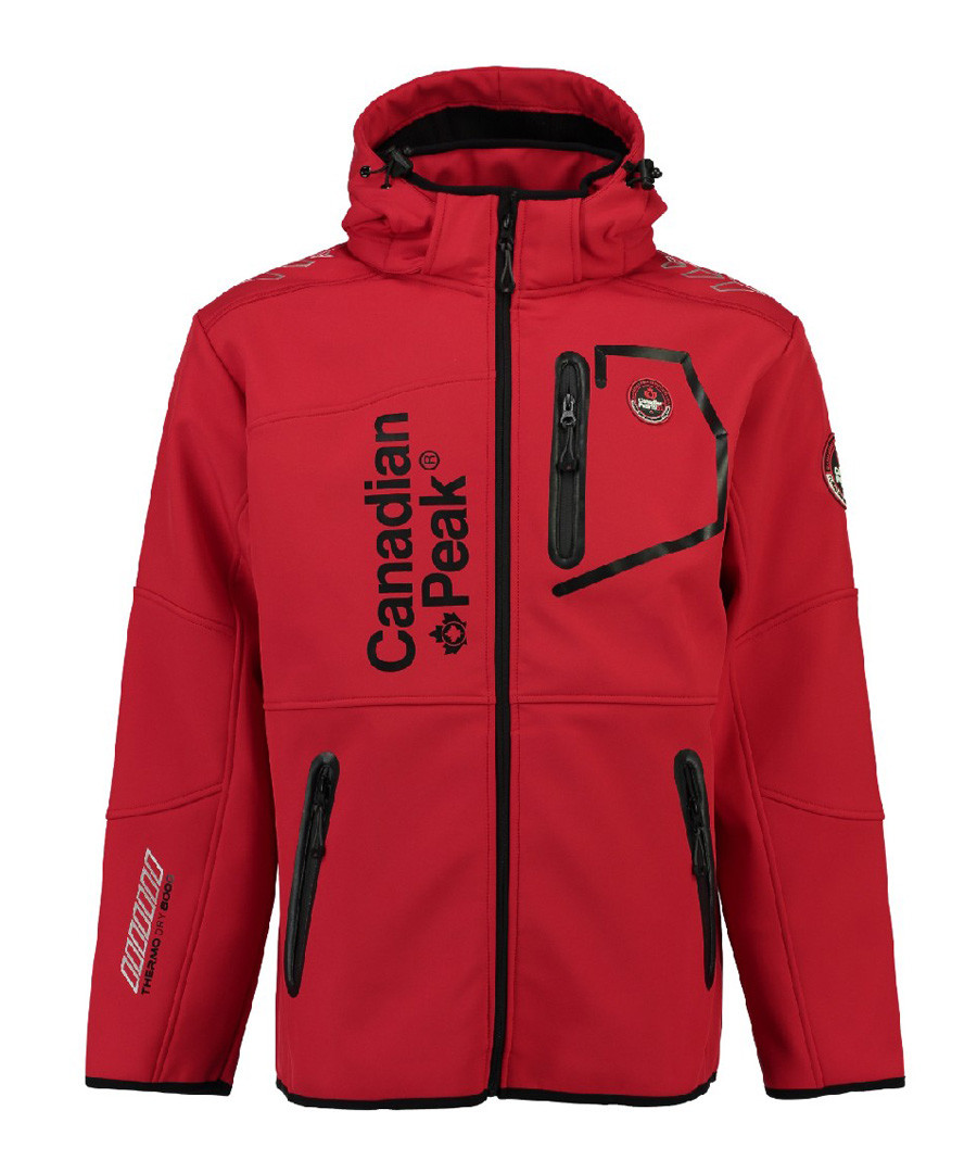 Tubis red contrast zip coat Sale - Canadian Peak