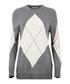 Grey wool blend argyle jumper Sale - Equipment Sale
