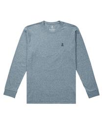 Henley pure cotton jumper