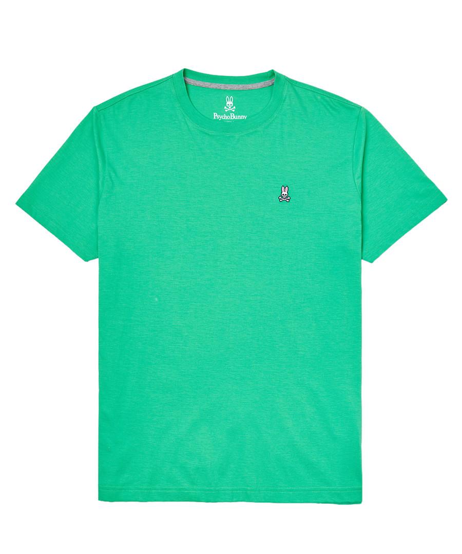 Lime pure pima cotton logo T-shirt Sale - psycho bunny