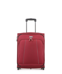 Galaxy red upright suitcase 55cm