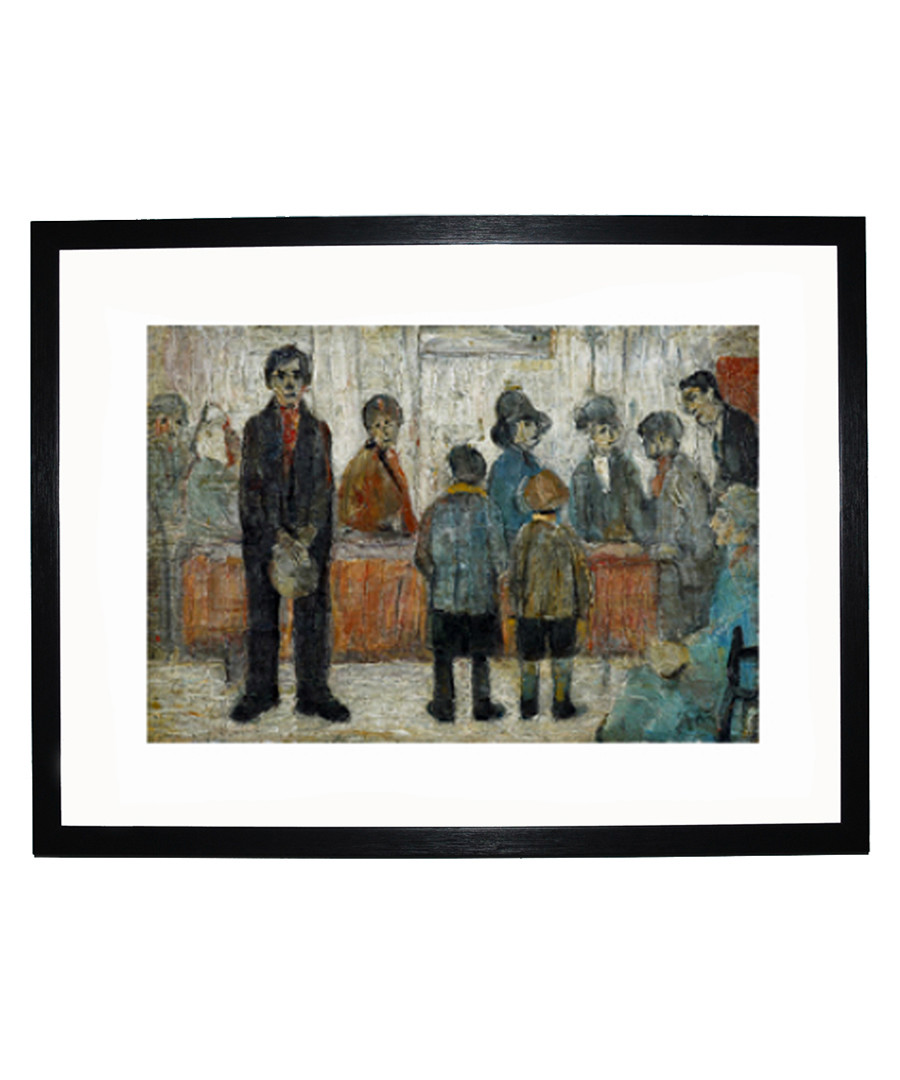 A Doctor's Waiting Room print 280x360mm Sale - L S Lowry