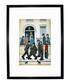 A Fight framed print 280x360mm Sale - L S Lowry Sale