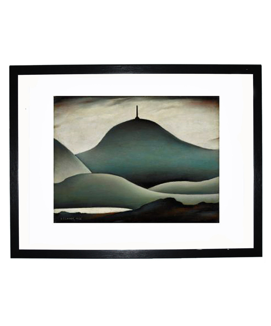 A Landmark framed print 280x360mm Sale - L S Lowry