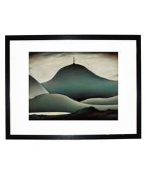 A Landmark framed print 280x360mm