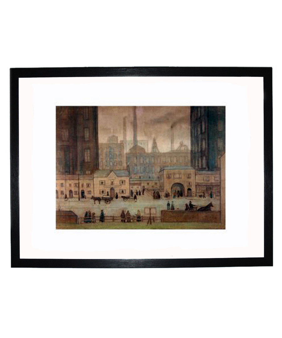 Coming From The Mill print 280x360mm Sale - L S Lowry