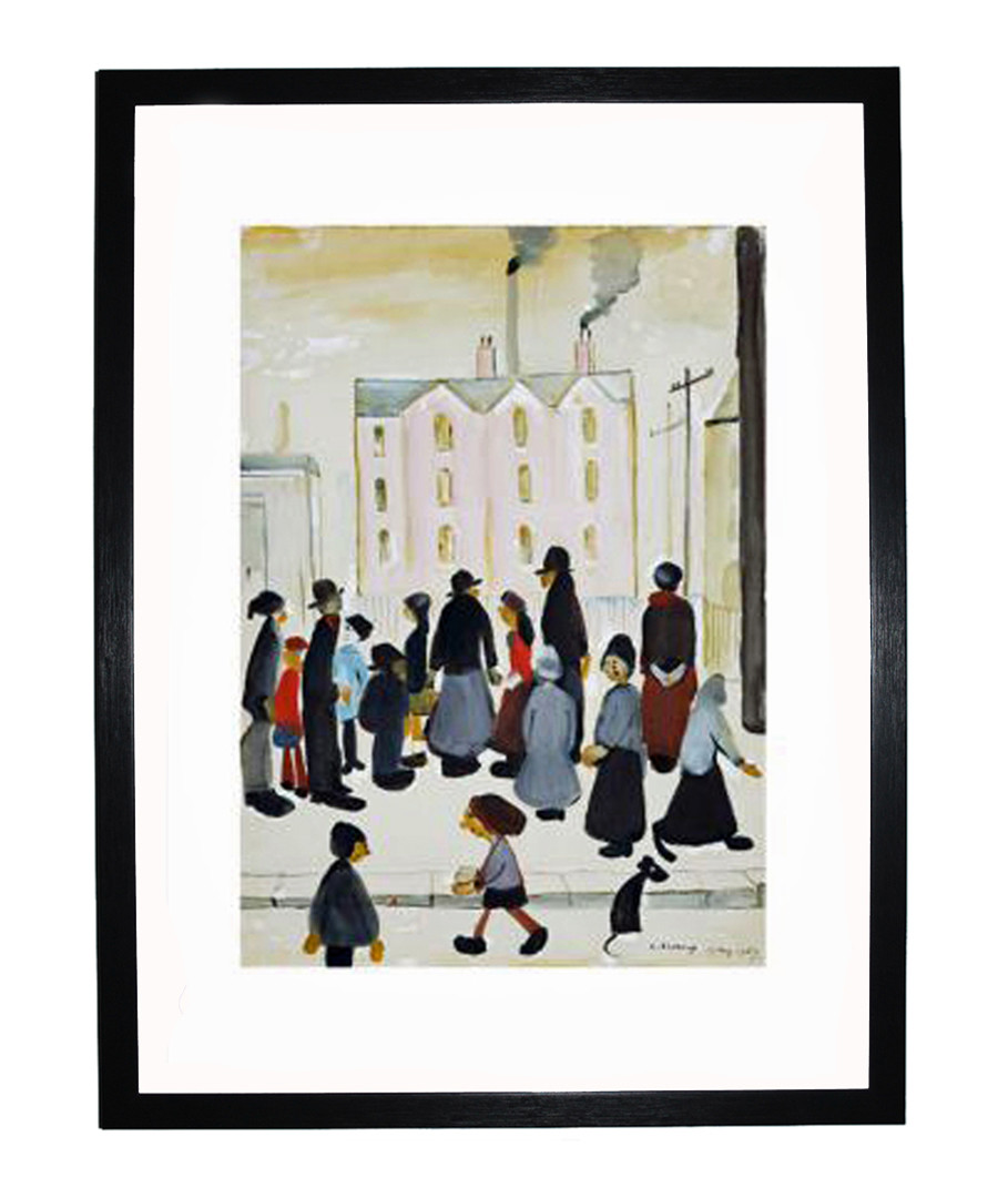 Busy Streets framed print 280x360mm Sale - L S Lowry