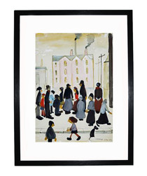 Busy Streets framed print 280x360mm