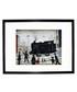 Level Crossing framed print 280x360mm Sale - L S Lowry Sale