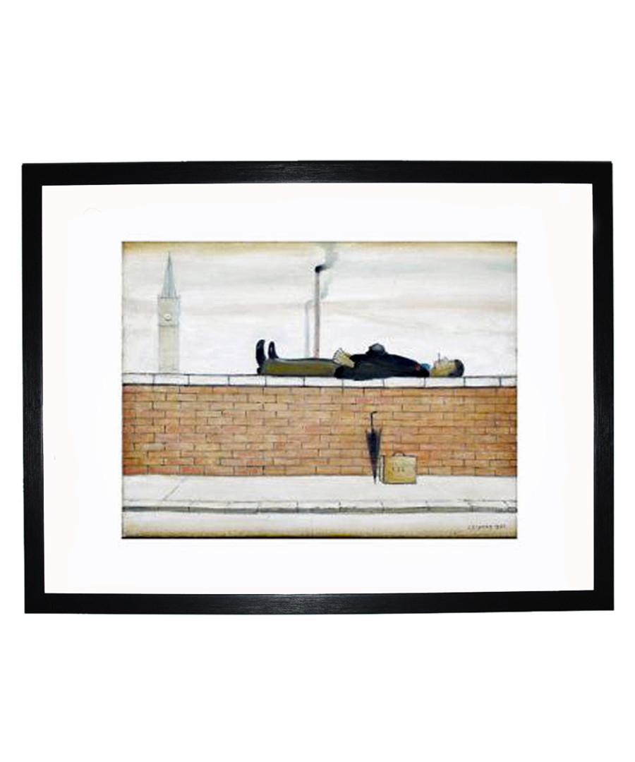 Man Lying on a Wall print 280x360mm Sale - L S Lowry