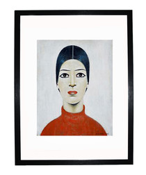 Portrait of Ann framed print 280x360mm