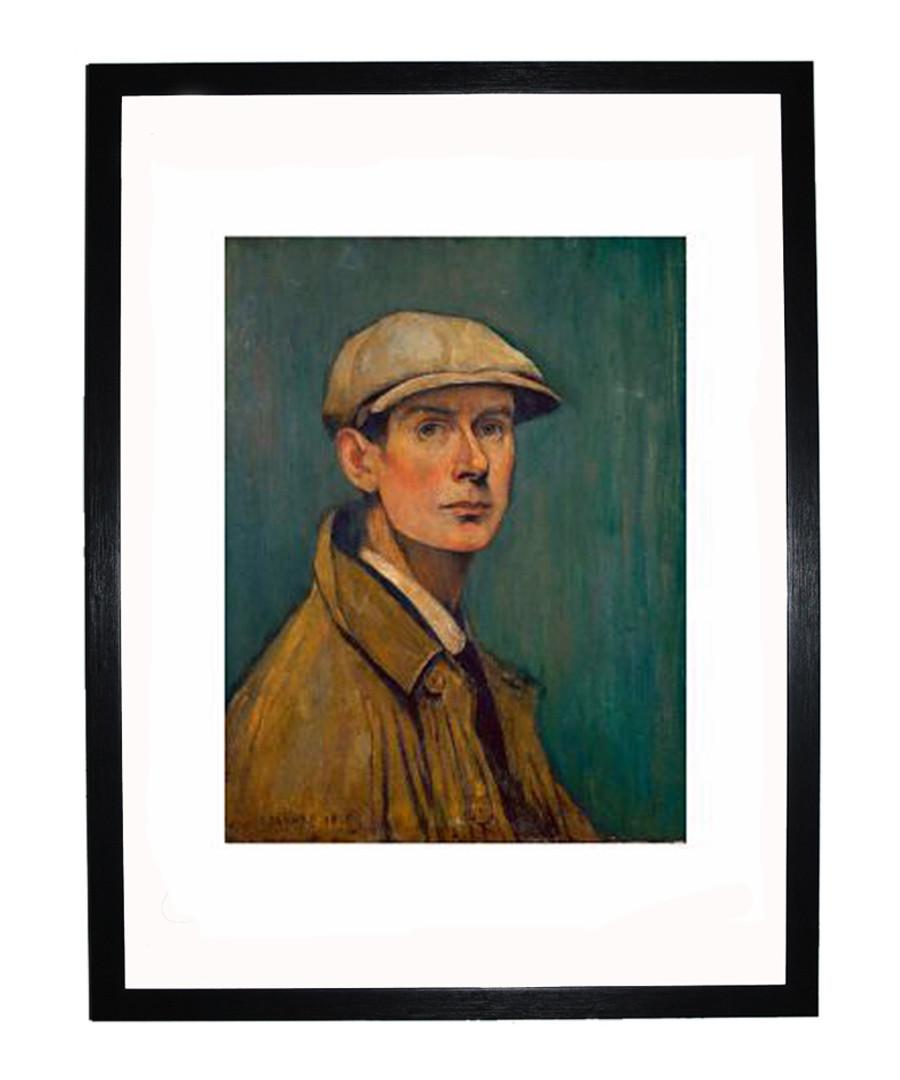 Self Portrait framed print 280x360mm Sale - L S Lowry