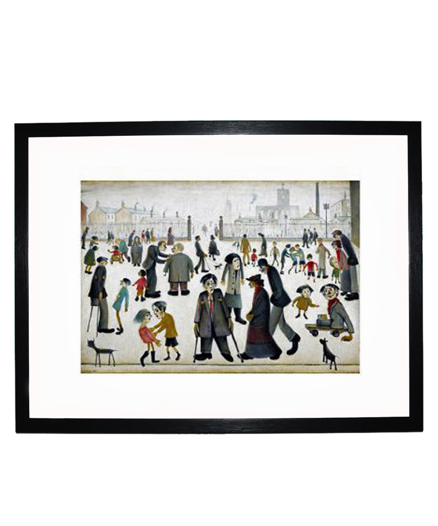 The Cripples framed print 280x360mm Sale - L S Lowry