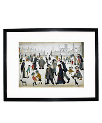 The Cripples framed print 280x360mm