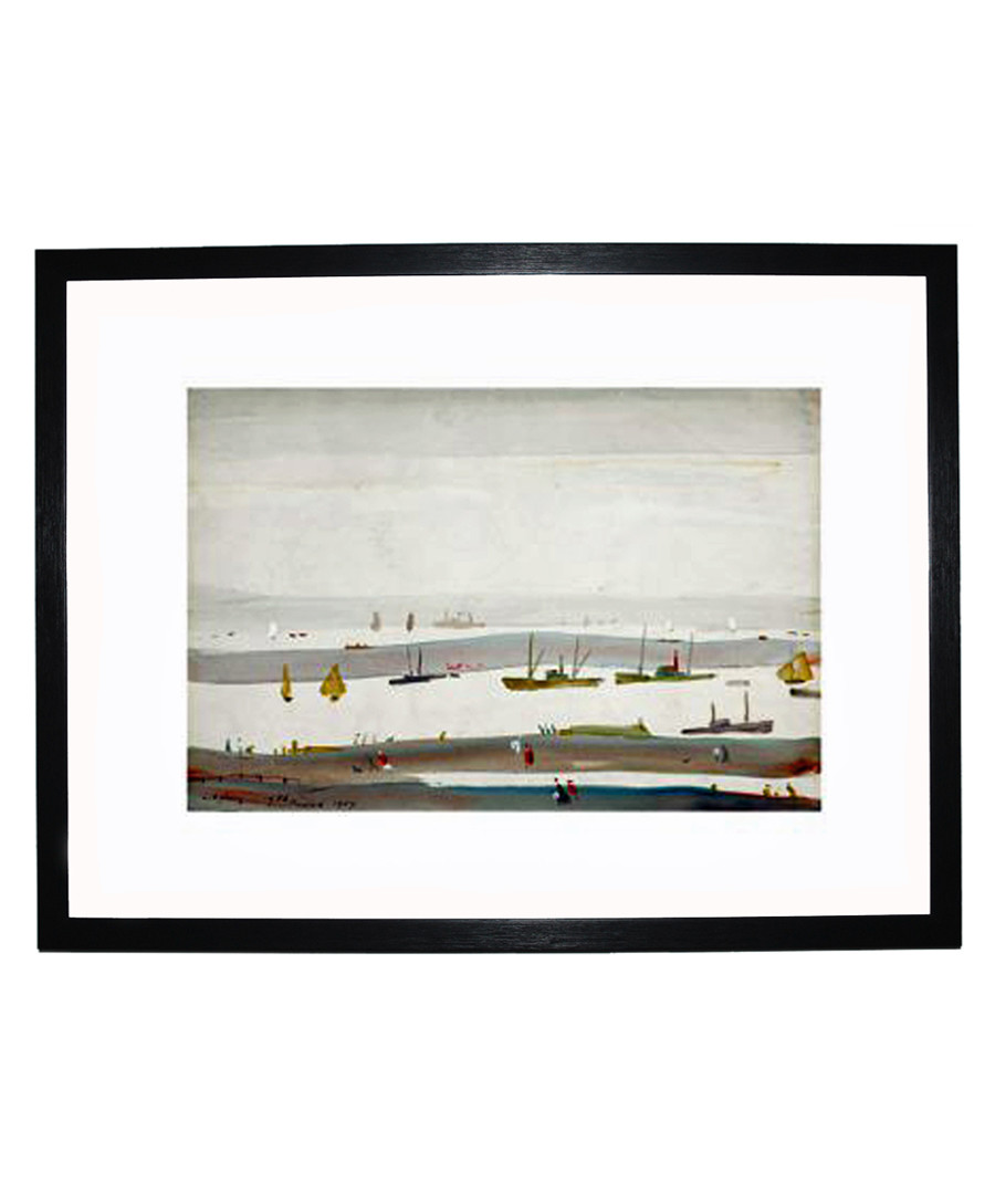 The Estuary framed print 280x360mm Sale - L S Lowry