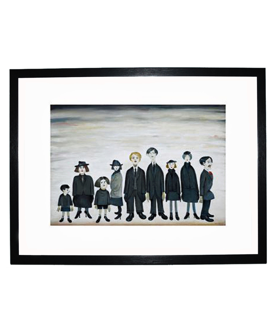 The Funeral Party print 280x360mm Sale - L S Lowry