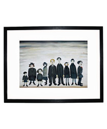 The Funeral Party print 280x360mm