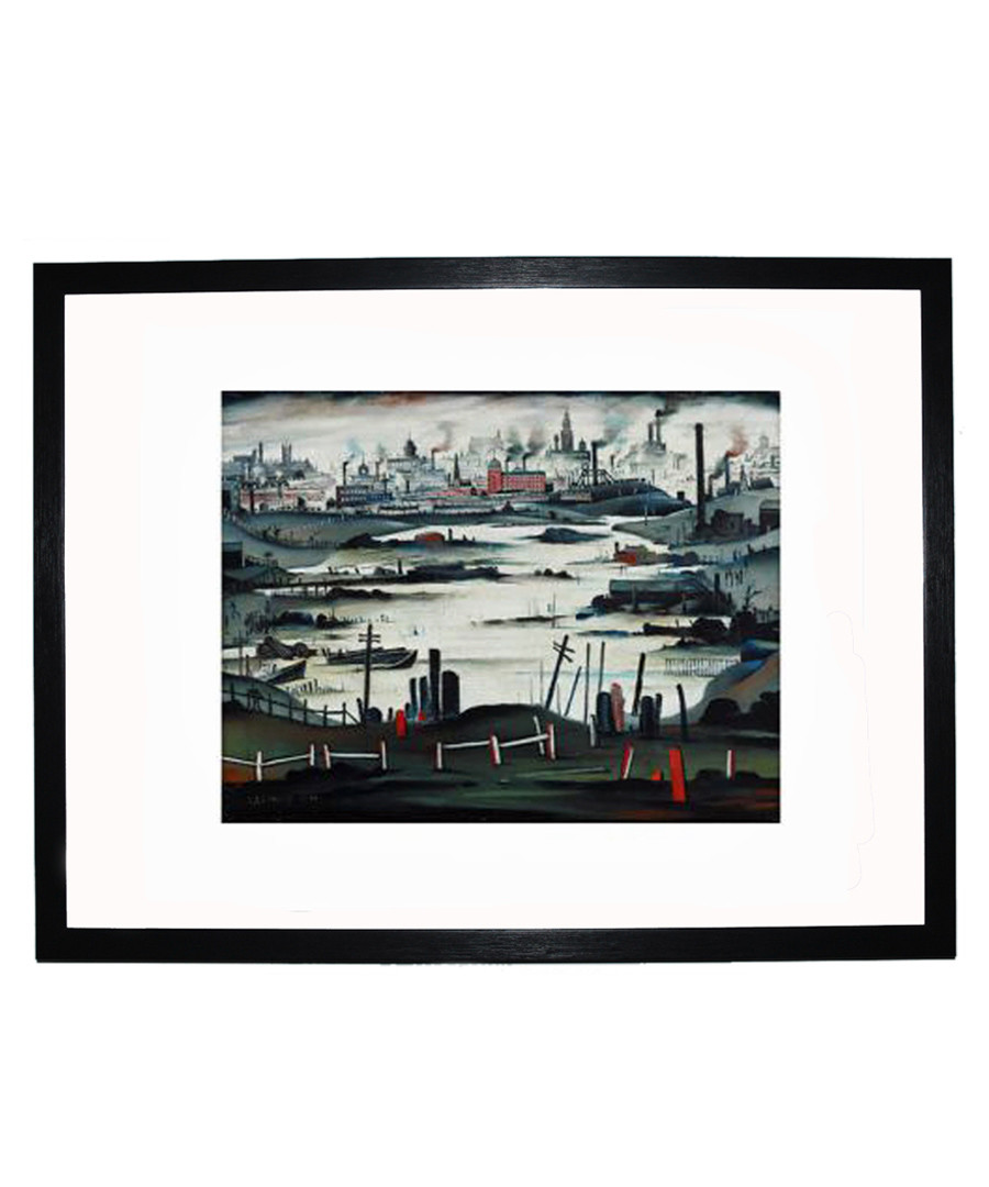 The Lake framed print 280x360mm Sale - L S Lowry