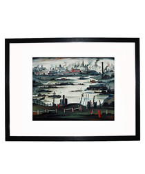 The Lake framed print 280x360mm