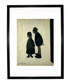 Two People framed print 280x360mm Sale - L S Lowry Sale