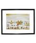 Yachts framed print 280x360mm Sale - L S Lowry Sale