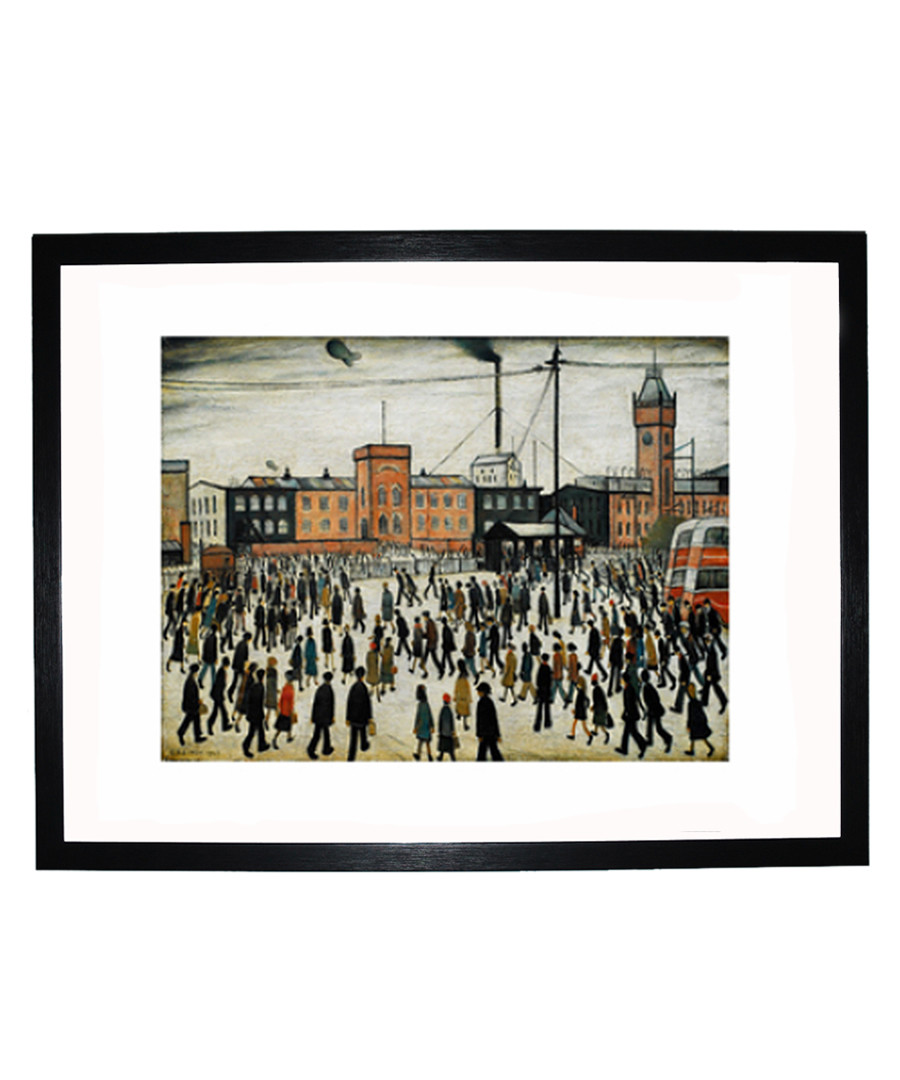 Going to Work framed print 280x360mm Sale - L S Lowry