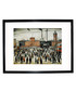 Going to Work framed print 280x360mm Sale - L S Lowry Sale