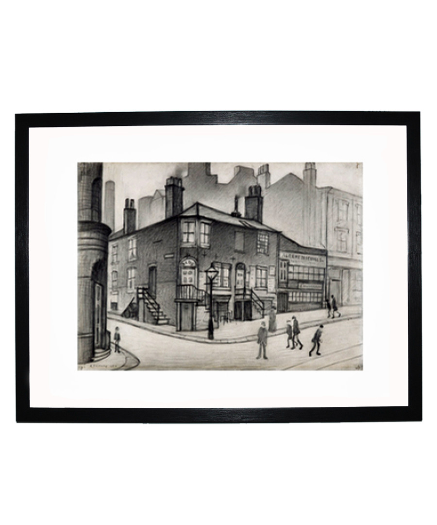 Great Ancoats Street print 280x360mm Sale - L S Lowry