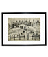 Houses In Broughton print 280x360mm Sale - L S Lowry Sale
