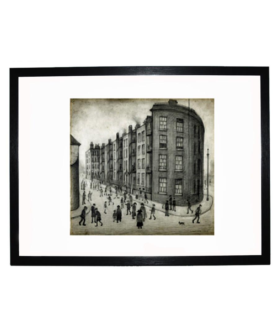 Oldfield Road Dwellings print 280x360mm Sale - L S Lowry