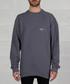 Grey pure cotton branded jumper Sale - off white Sale