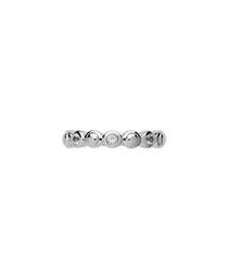 Sterling silver & crystal bella ring