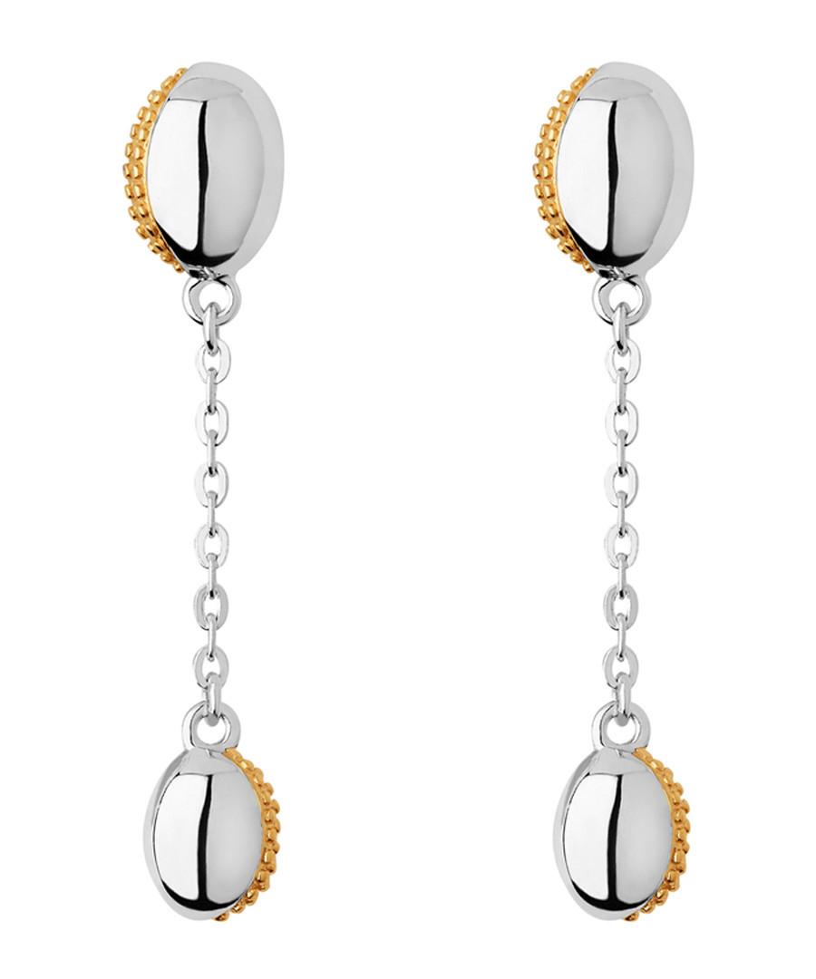 Yellow gold-vermeil & silver earrings Sale - links of london