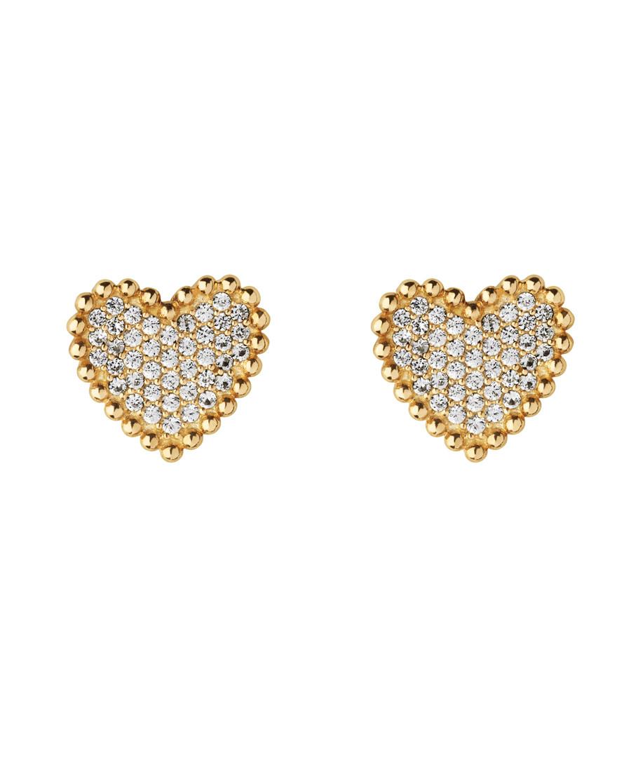 Gold-plated heart earrings Sale - links of london