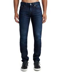 Navy rocco no flap pure cotton jeans