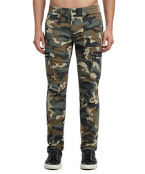 Camouflage pure cotton combat trousers