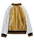 Gold-tone sequin logo bomber jacket Sale - true religion Sale